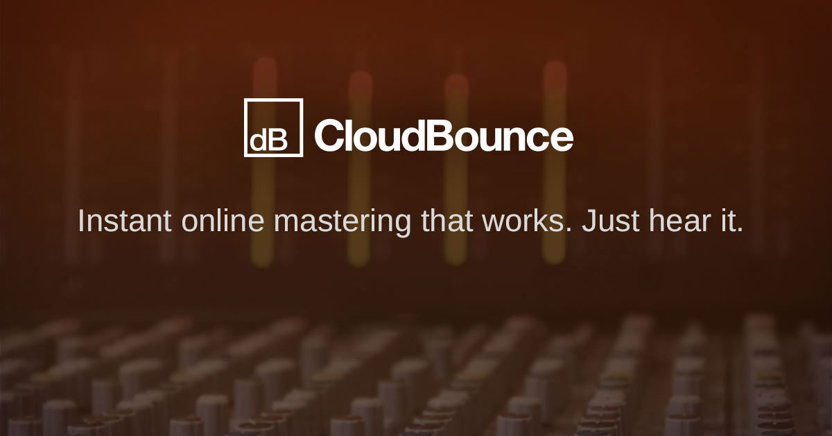 Try CloudBounce Free